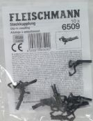 Fleischmann 6509 NEM clip-in tension lock coupling - reduced